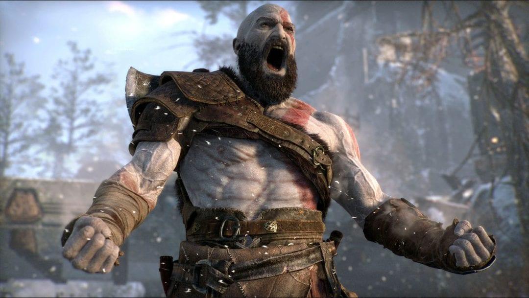 god of war camera hack baldur gives the finger to kratos Lance McDonald