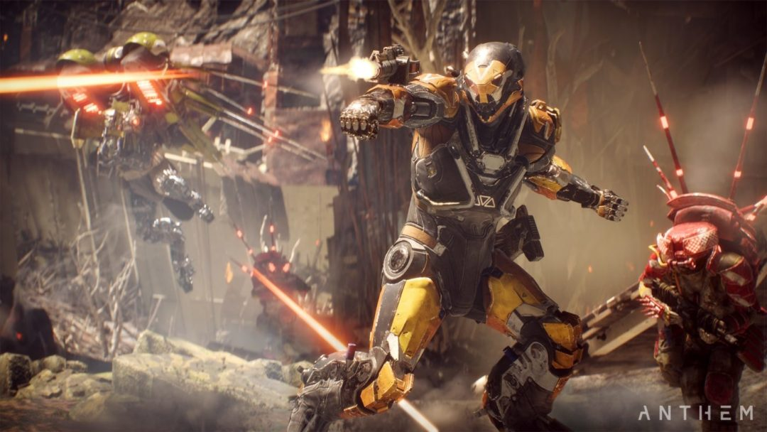 Anthem Cataclysm update 1.3.0 is here