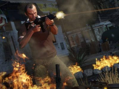Grand Theft Auto V on Xbox Game Boss for Xbox One