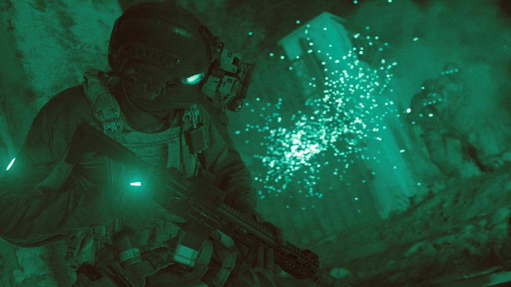 call of duty: modern warfare 4k footage