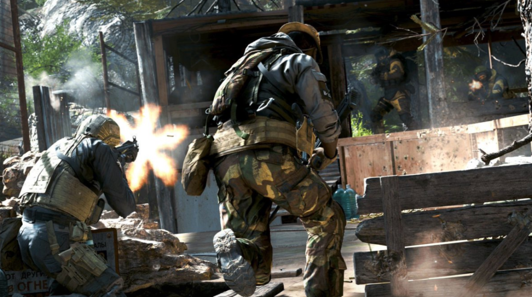 Call of Duty: Modern Warfare Multiplayer Gameplay Showcased