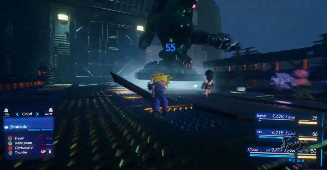 Dreams Final Fantasy VII Remake