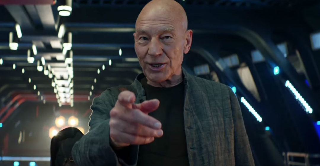 Star Trek: Picard SDCC trailer