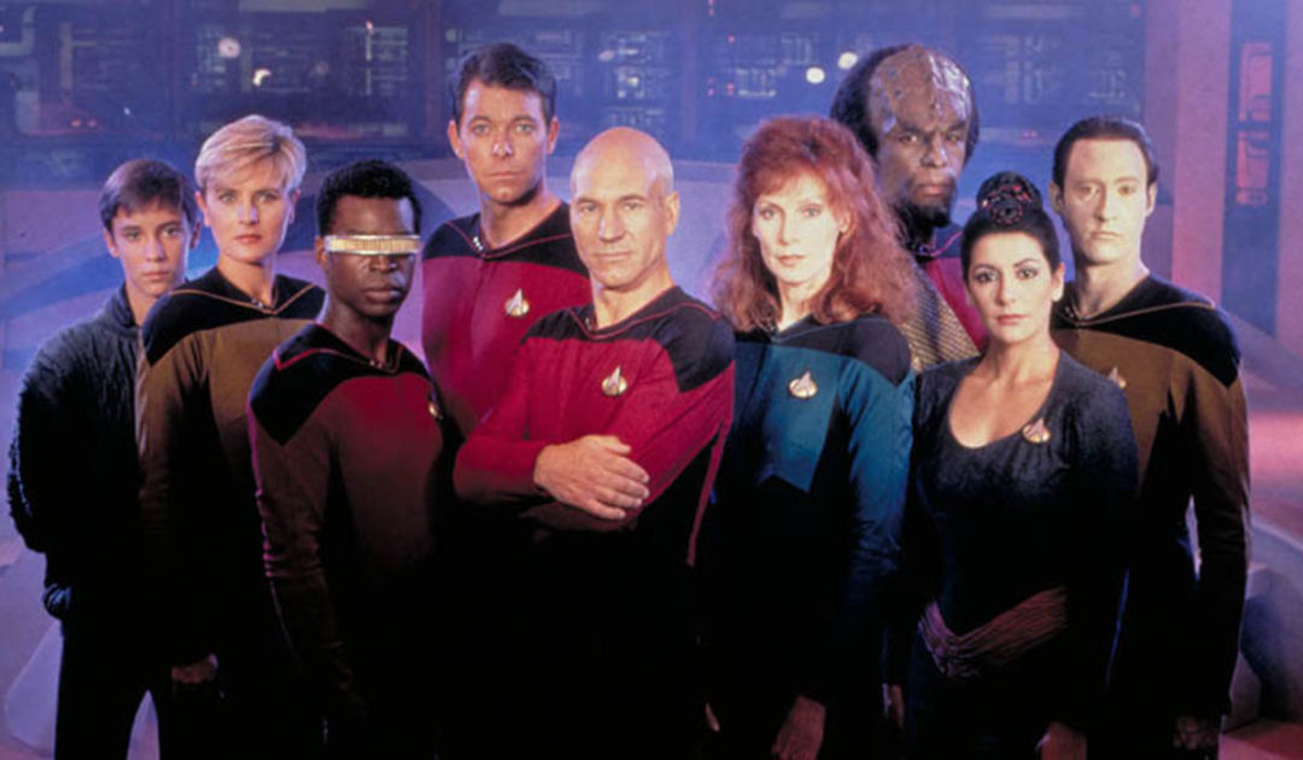 Picard returns from Star Trek: The Next Generation