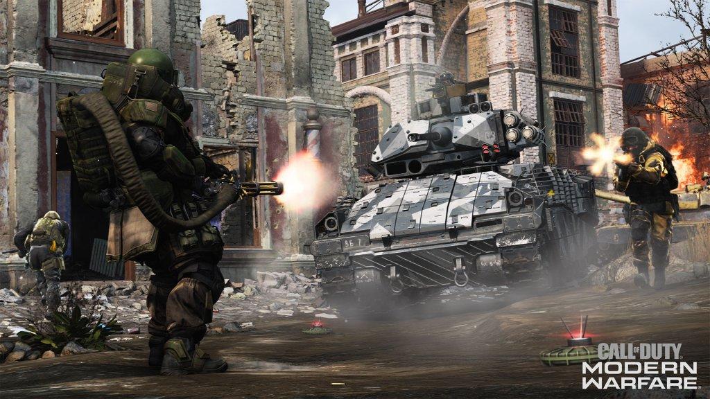 call of duty: modern warfare, activision, infinity ward