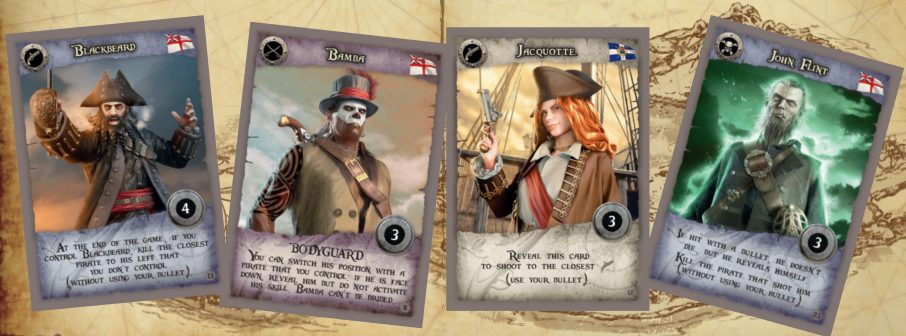 15 Men card game from Pendragon Game Studio is pirate Bang