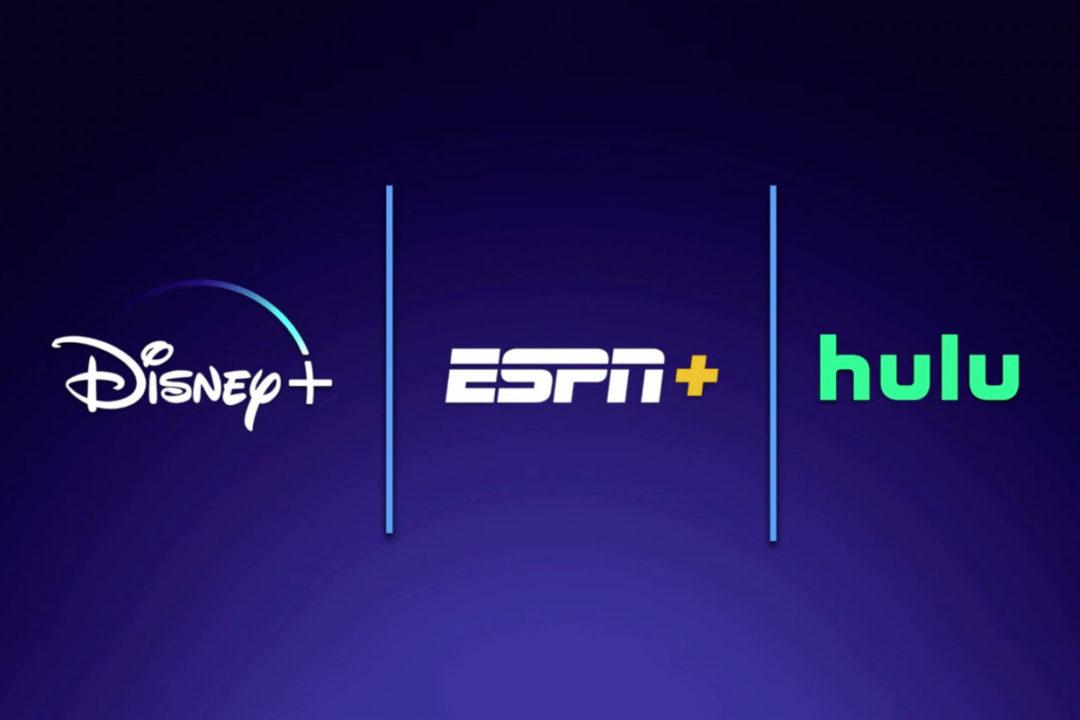 Disney+, Hulu, ESPN+