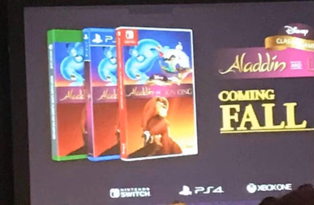 The Lion King, Aladdin