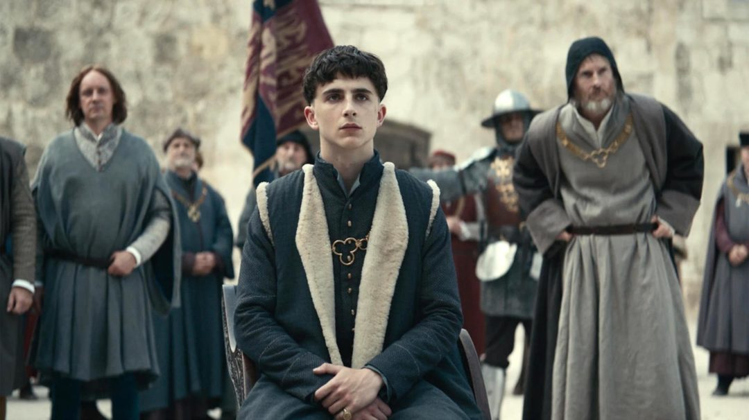 The King Netflix trailer with Timothée Chalamet