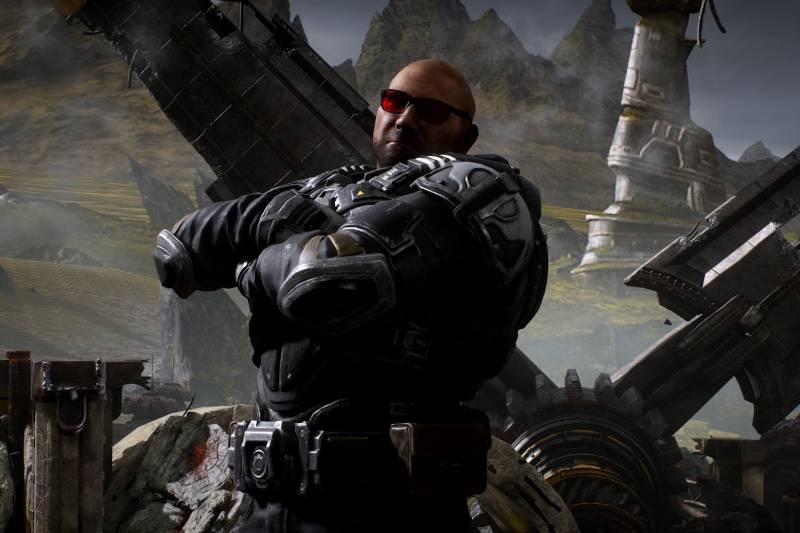 Gears 5, Gears of War, Dave Bautista