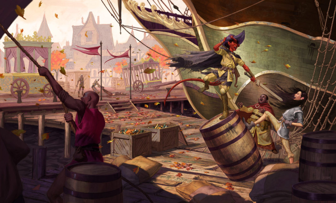 Dungeons & Dragons friends via Waterdeep: Dragon Heist