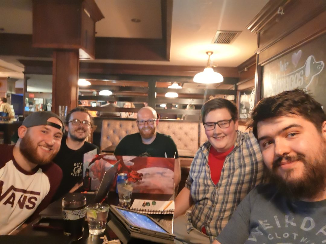 Dungeons & Dragons friends via Waterdeep: Dragon Heist