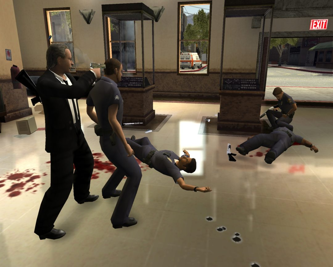 Reservoir Dogs: Bloody Days Blitz Games, Volatile video games