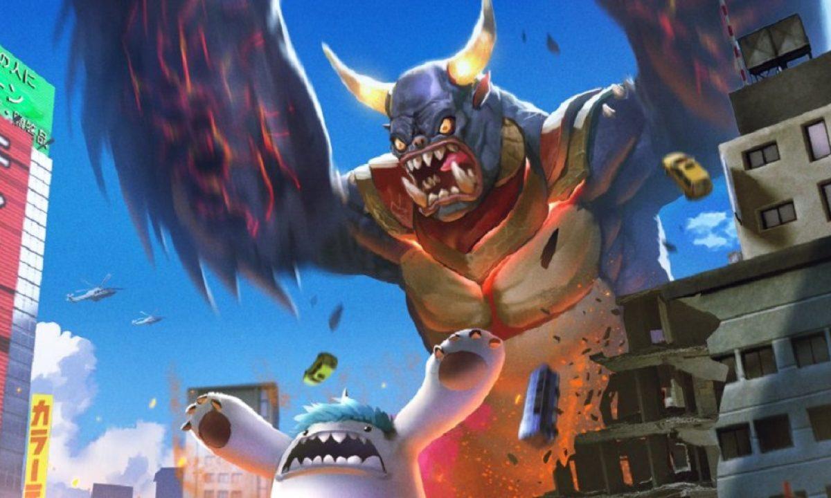 Gigabash Is About Kaiju Battles And The Glee Of Bringing Total Destruction
