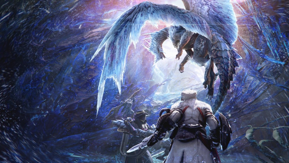 monster hunter world iceborne frozen barioth