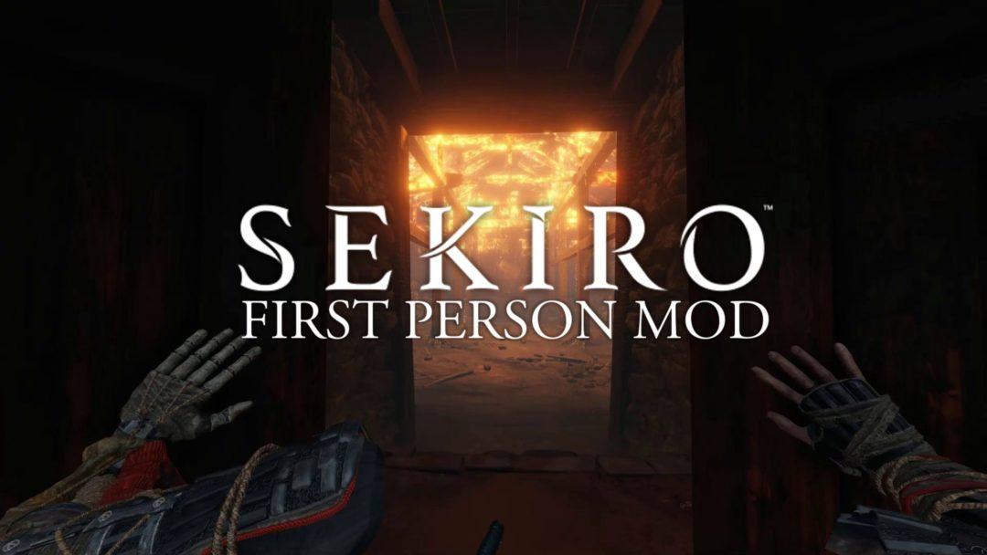 Sekiro: Shadows Die Twice first person mod