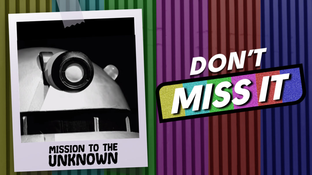 Doctor Who Mission to the Unknown recreation