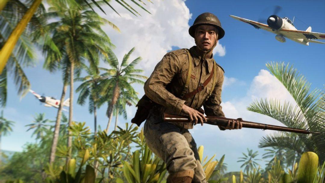 Battlefield V War in the Pacific October 31