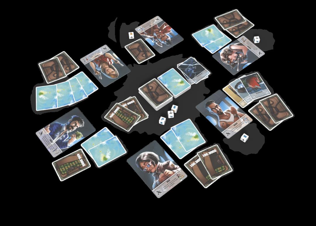 Bahamas Matagot tabletop game