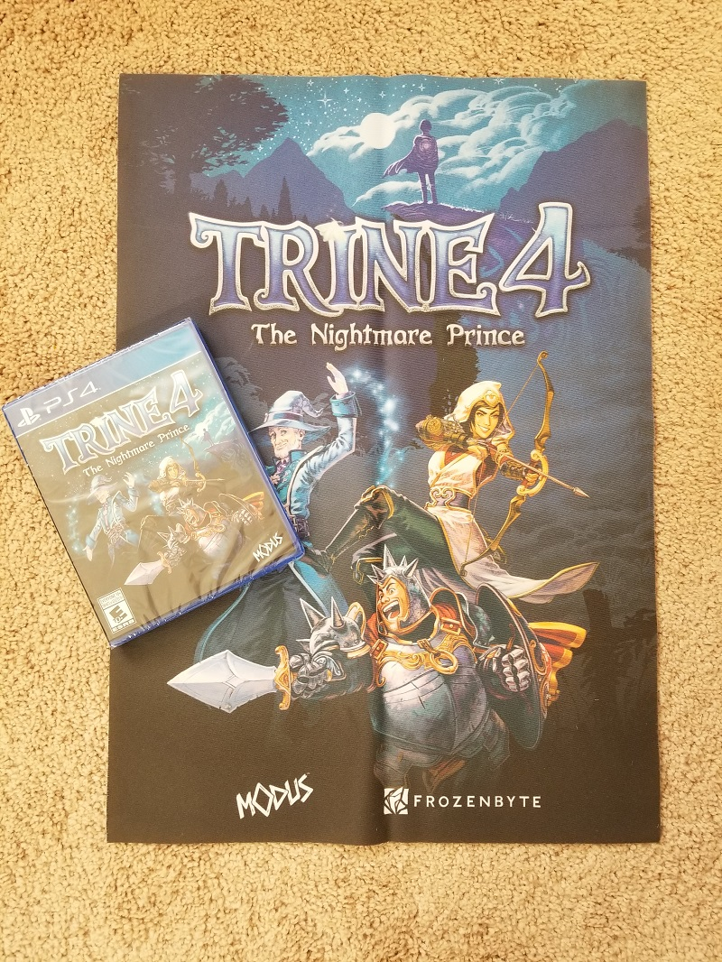 Trine 4 physical PS4 contest