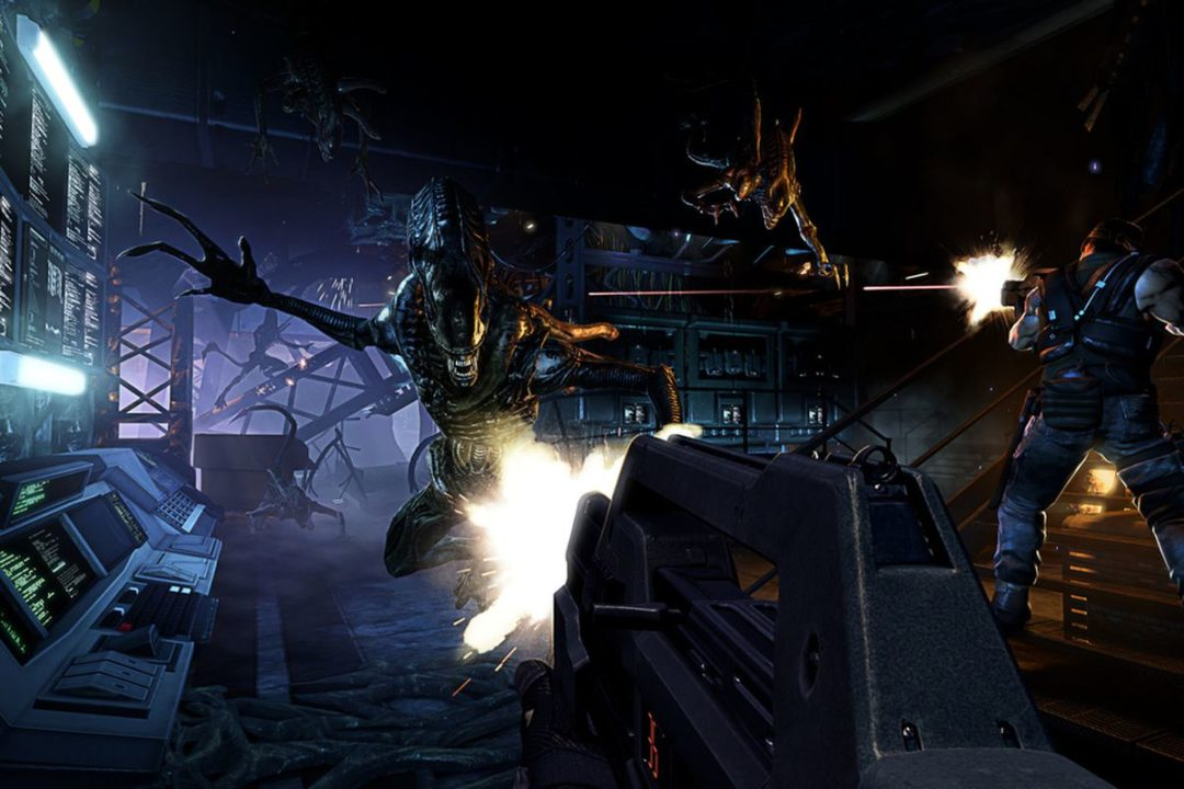 Aliens: Colonial Marines Gearbox multiplayer mod Steam community Cliff bleszinski alien shooter boss key productions