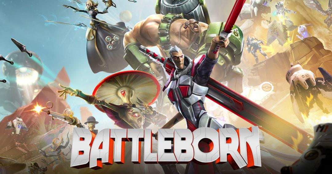 battleborn, 2k, gearbox