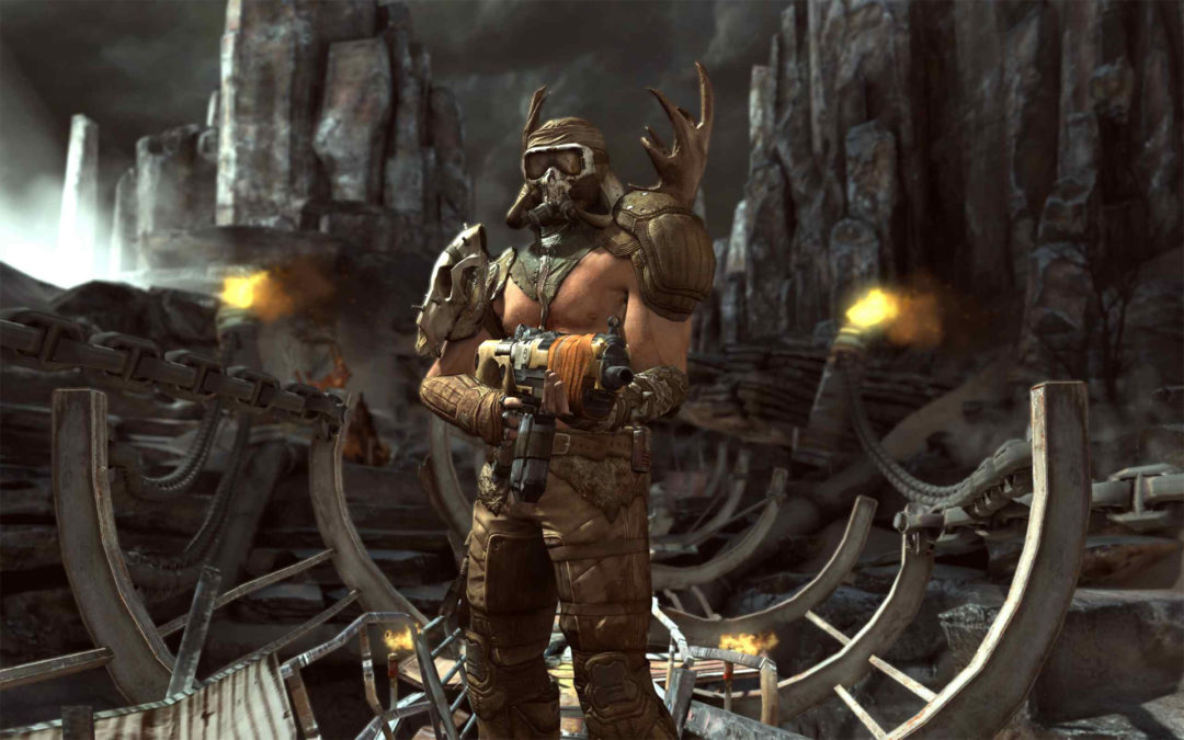 id Rage open world handcrafted fps distinct memorable characters