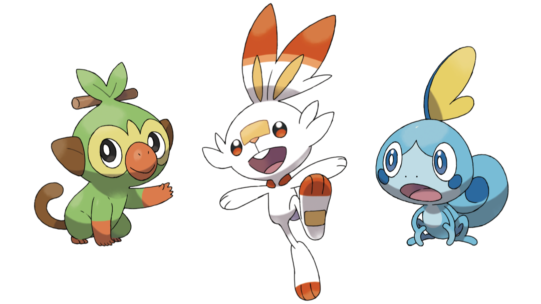 Pokémon Sword and Shield starters evolution biology