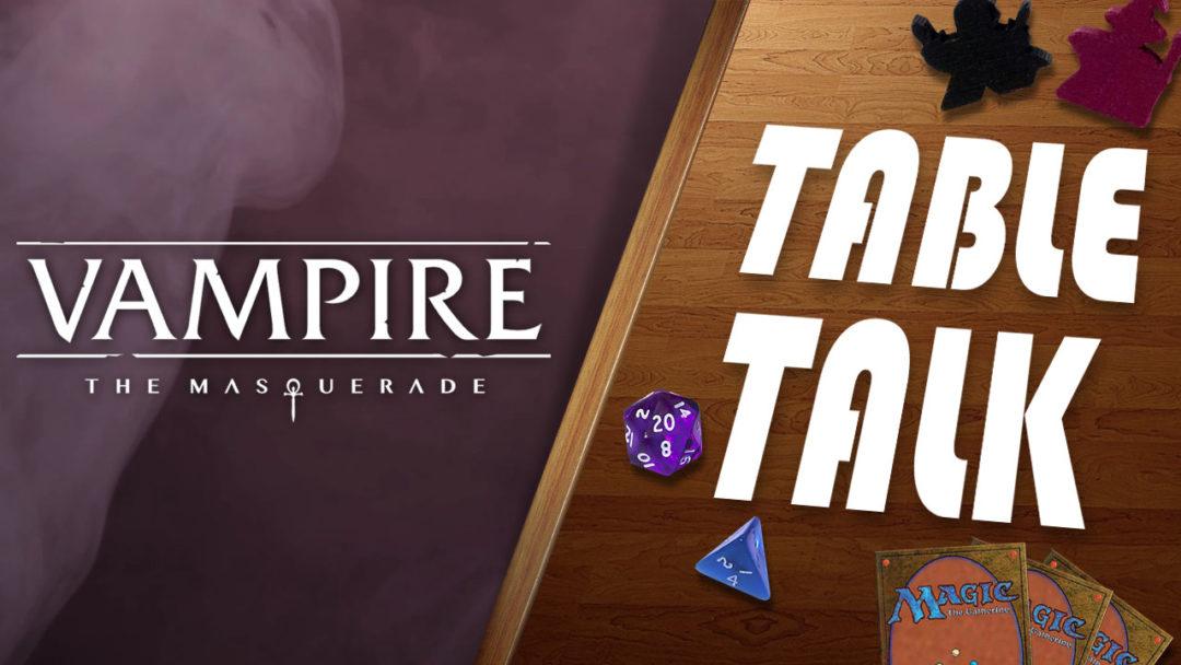 Vampire: The Masquerade expandable card game Renegade Game Studios