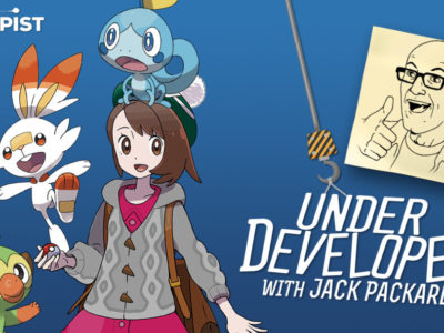 Pokémon Sword and Shield shared experience UnderDeveloped Jack Packard