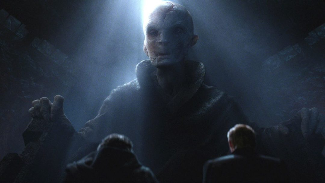 Star Wars canon loose or rigid: Snoke, The Force Awakens