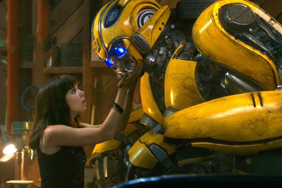 Bumblebee Transformers Travis Knight Hailee Steinfeld