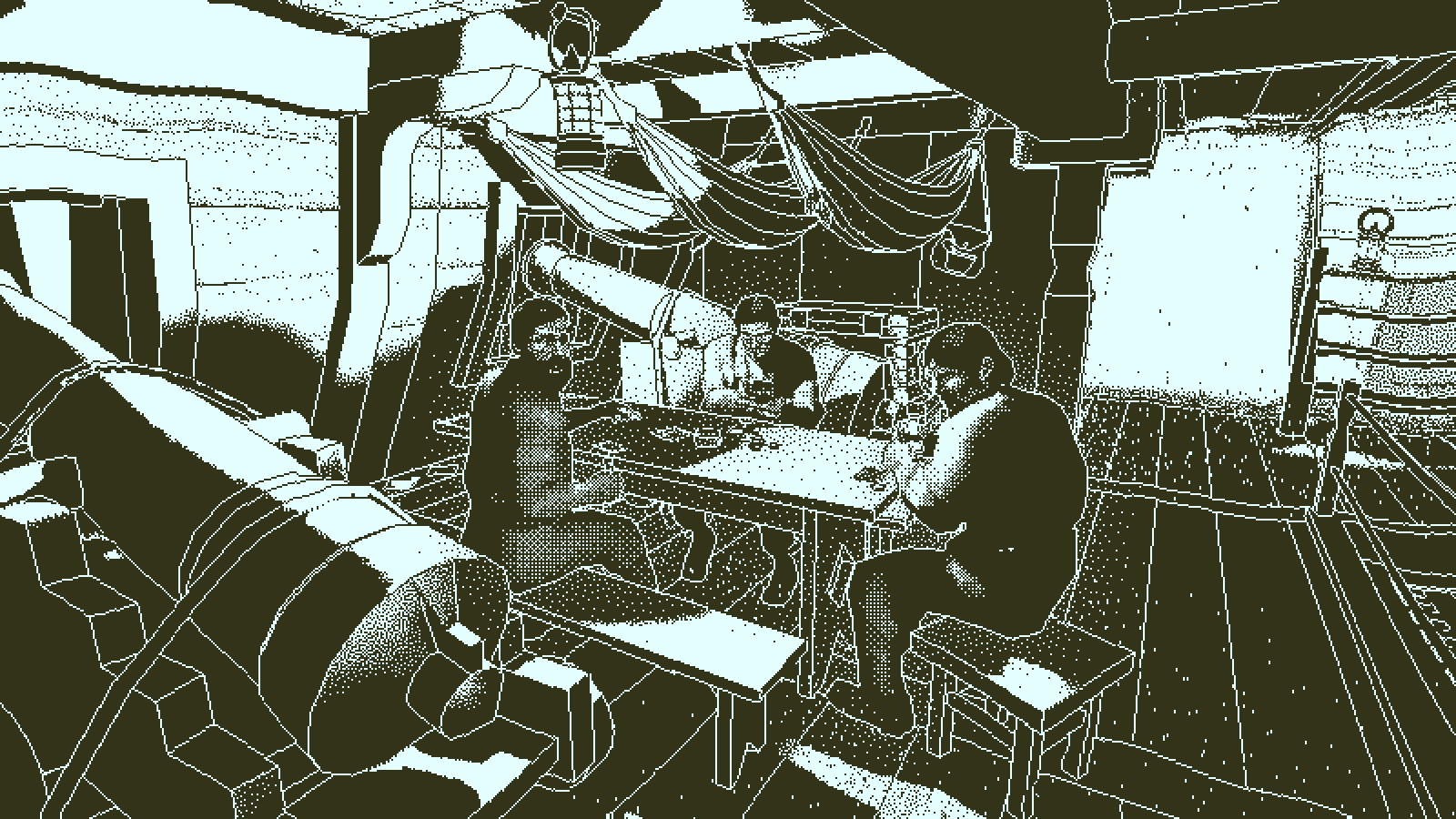 narrative design improves interactive storytelling in video games 2010s decade Return of the Obra Dinn