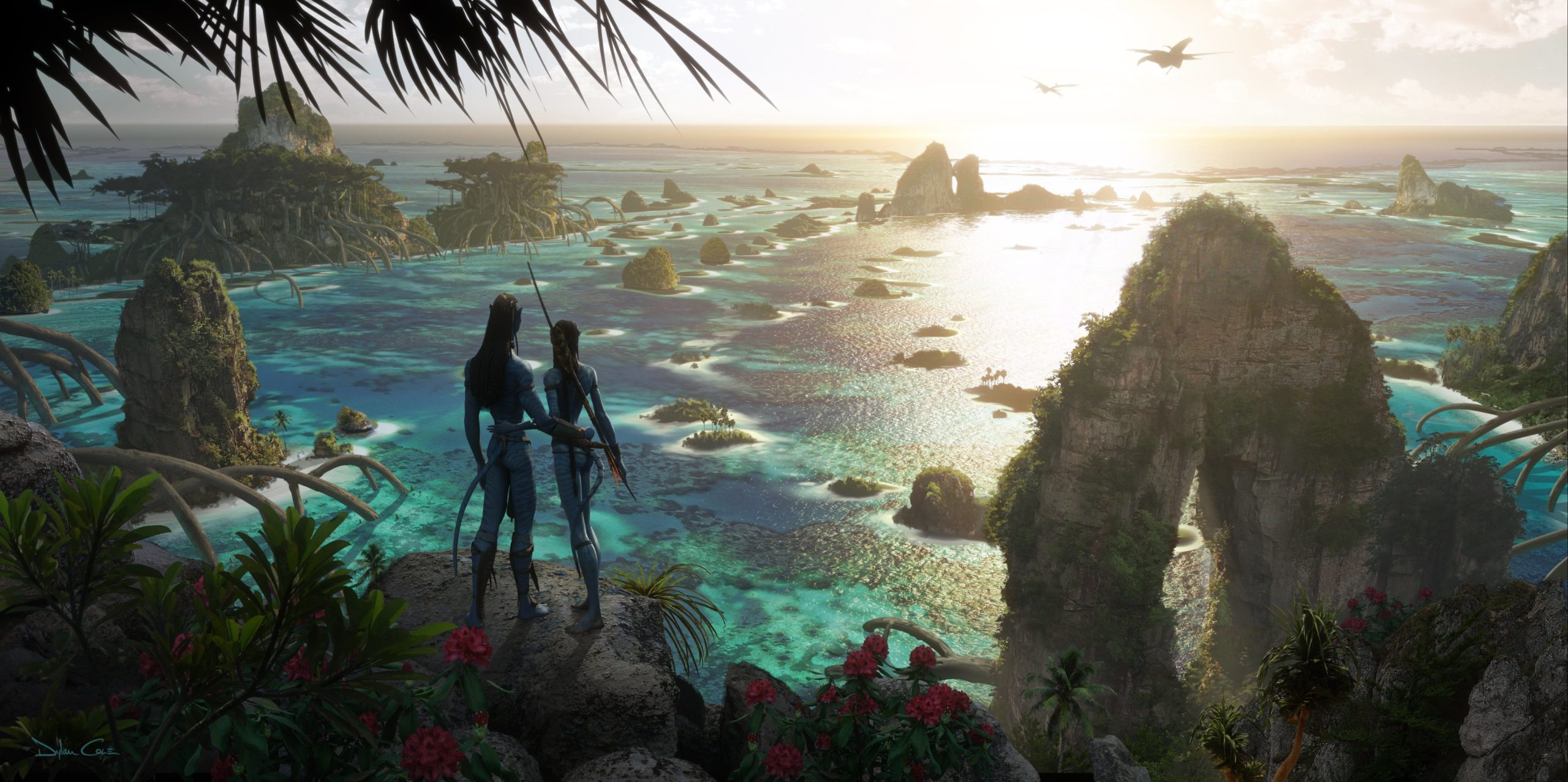 Avatar sequels concept art Pandora