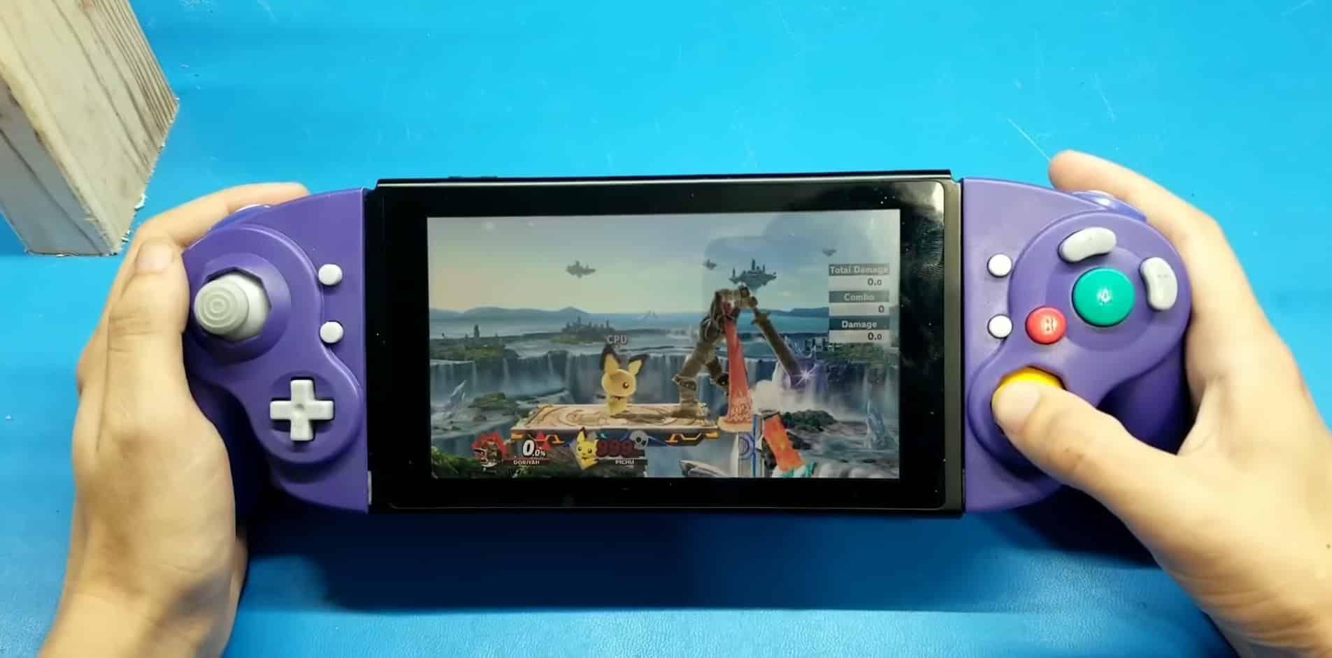 GameCube, Nintendo Switch, Mod, Joy-Con, Shank Mods super smash bros