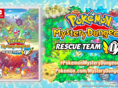 Pokemon Mystery Dungeon Rescue Team DX demo today