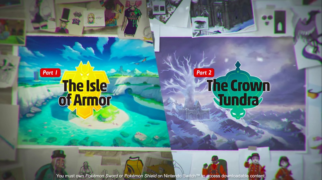 Pokémon Sword and Shield Expansion Pass Revealed