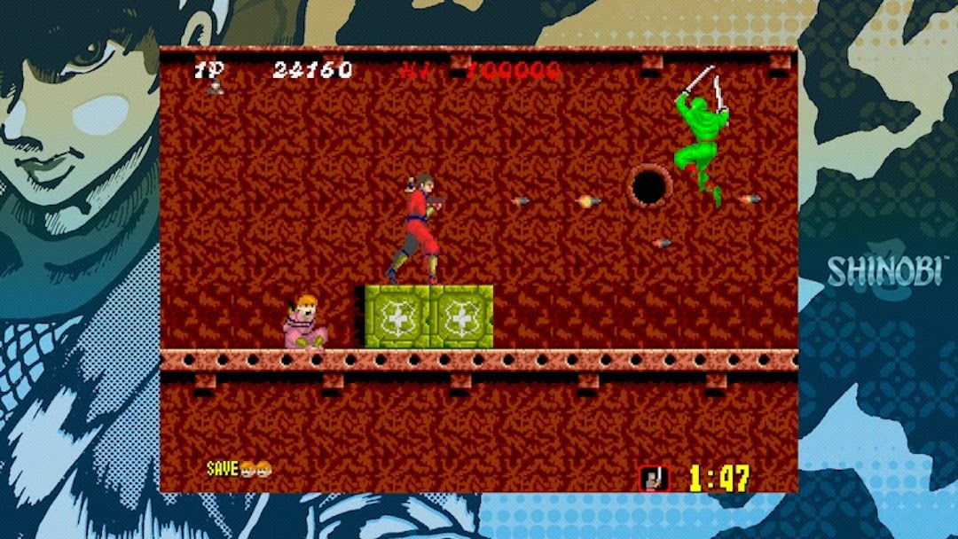 Sega Ages Shinobi, Fantasy Zone to Nintendo Switch January release date