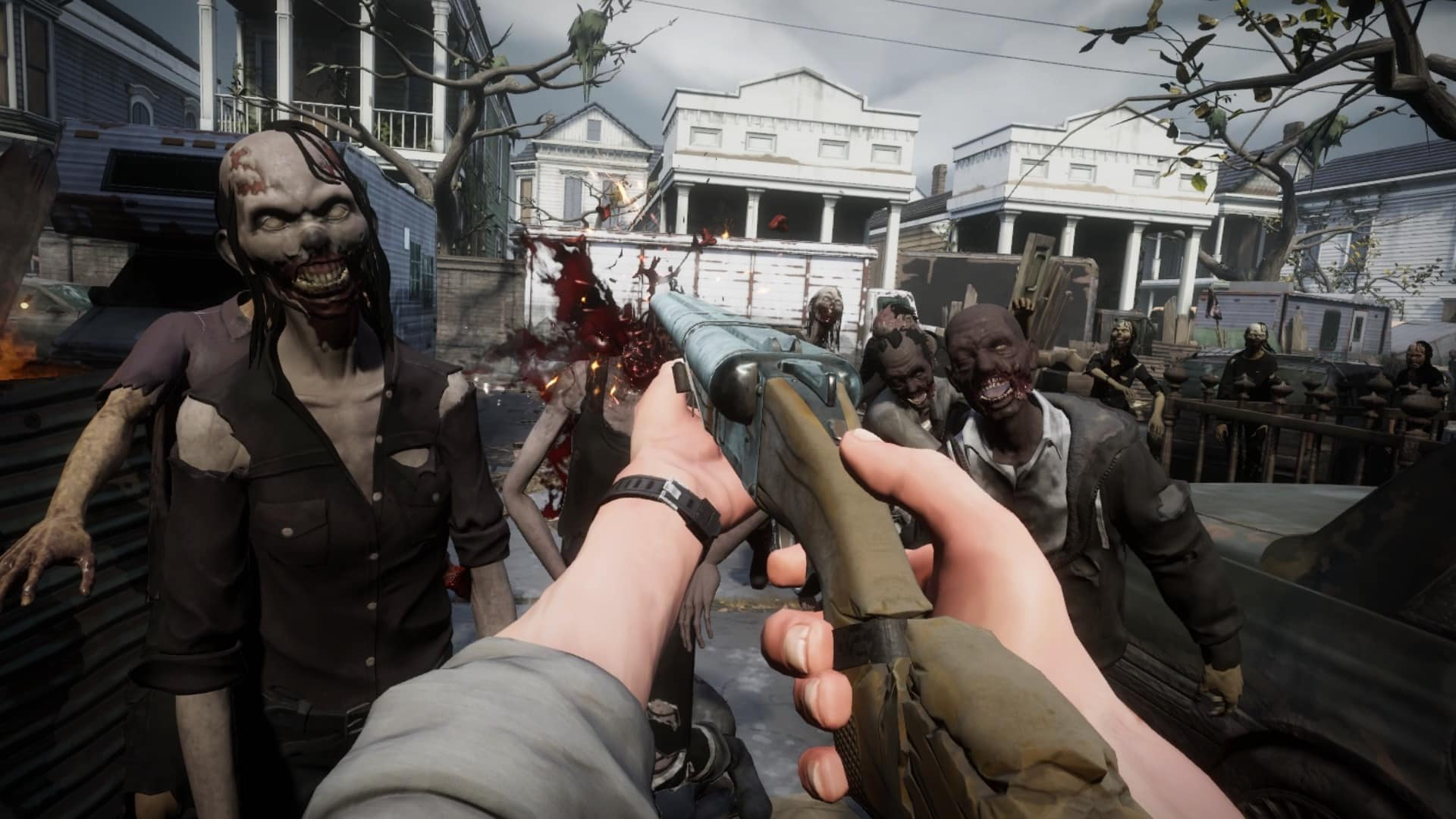 The Walking Dead: Saints & Sinners Skydance Interactive VR game launch trailers