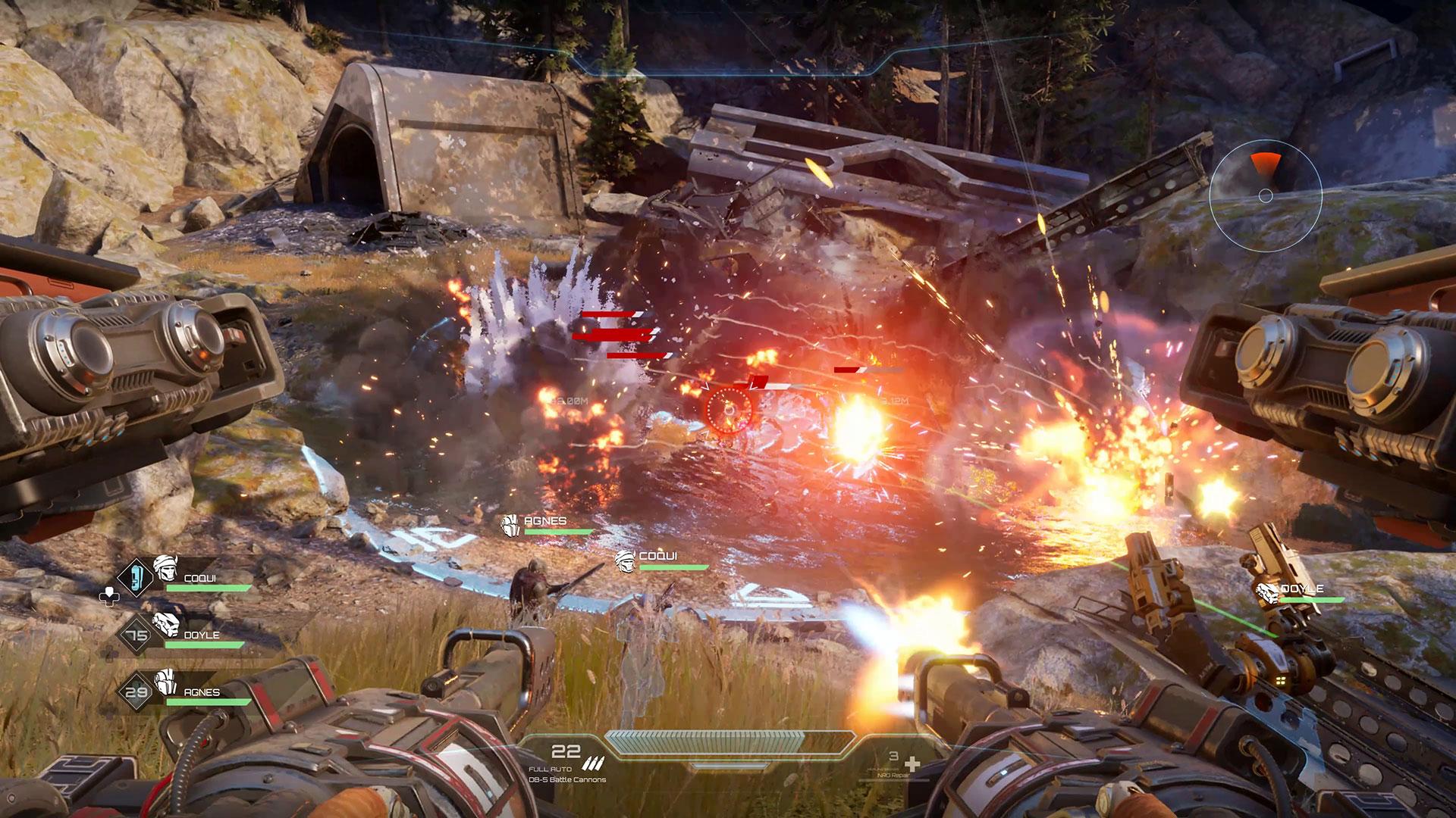 Disintegration technical beta competitive struggle V1 Interactive