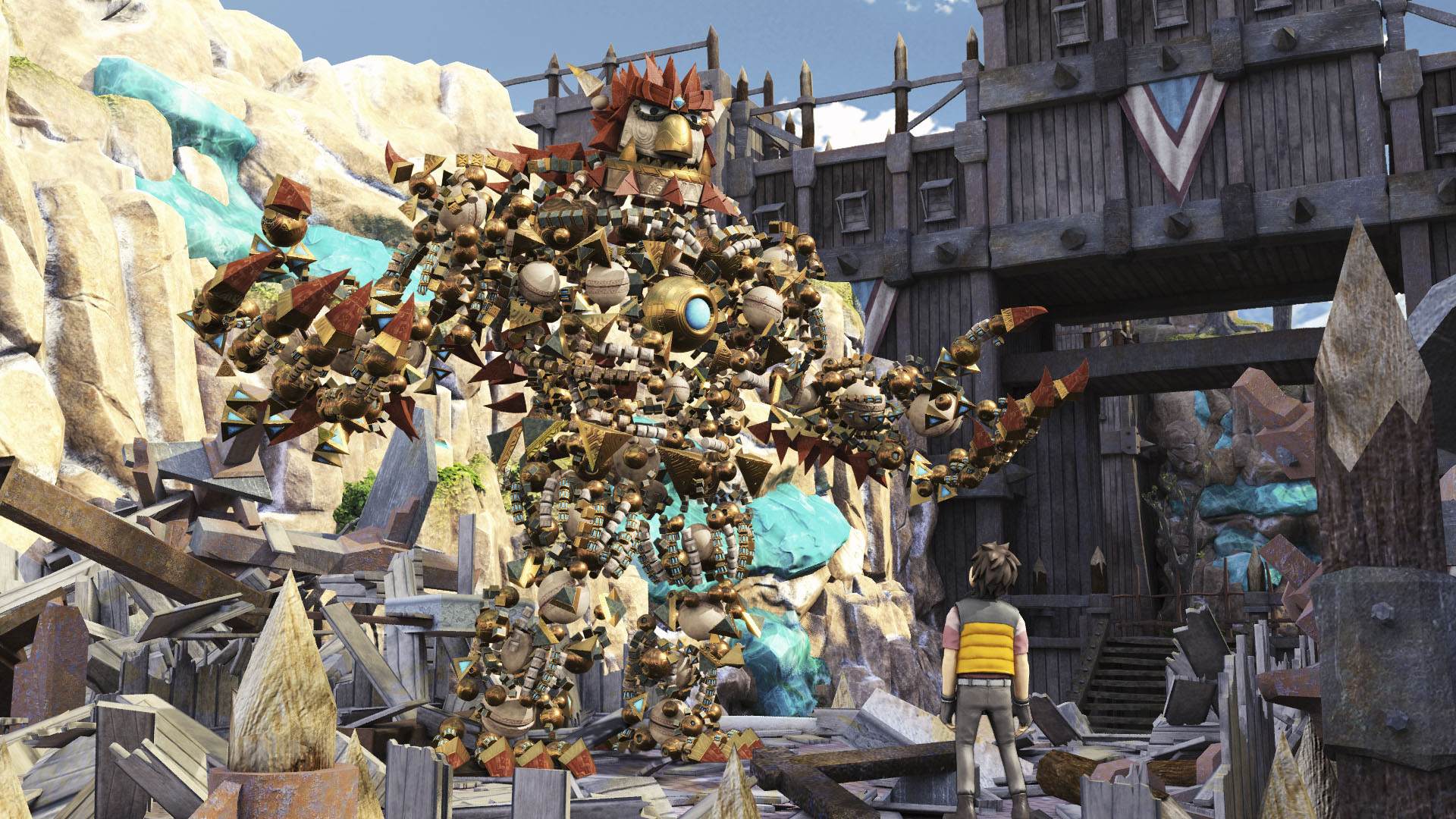 PlayStation 4 Knack SCE Japan Studios Sony is like PlayStation 1 classics PS1 Crash Bandicoot Spyro etc.
