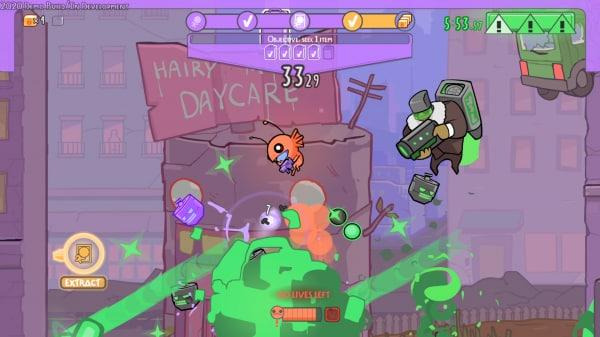 Alien Hominid Invasion the behemoth platforms trailer