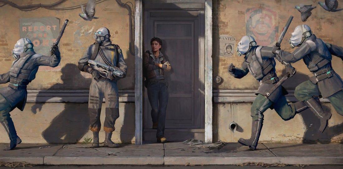 Half-Life: Alyx, Valve, VR release date