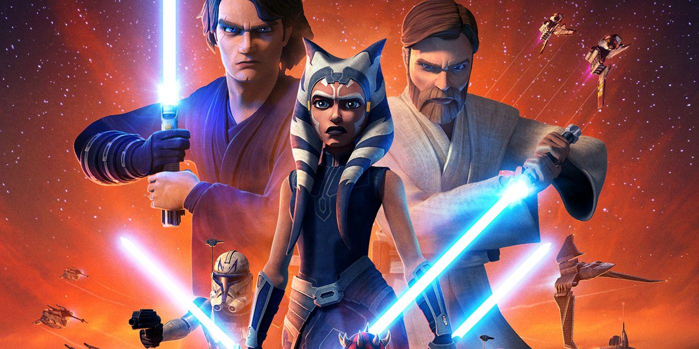 Disney official star wars timeline disney+ star wars: the clone wars final season