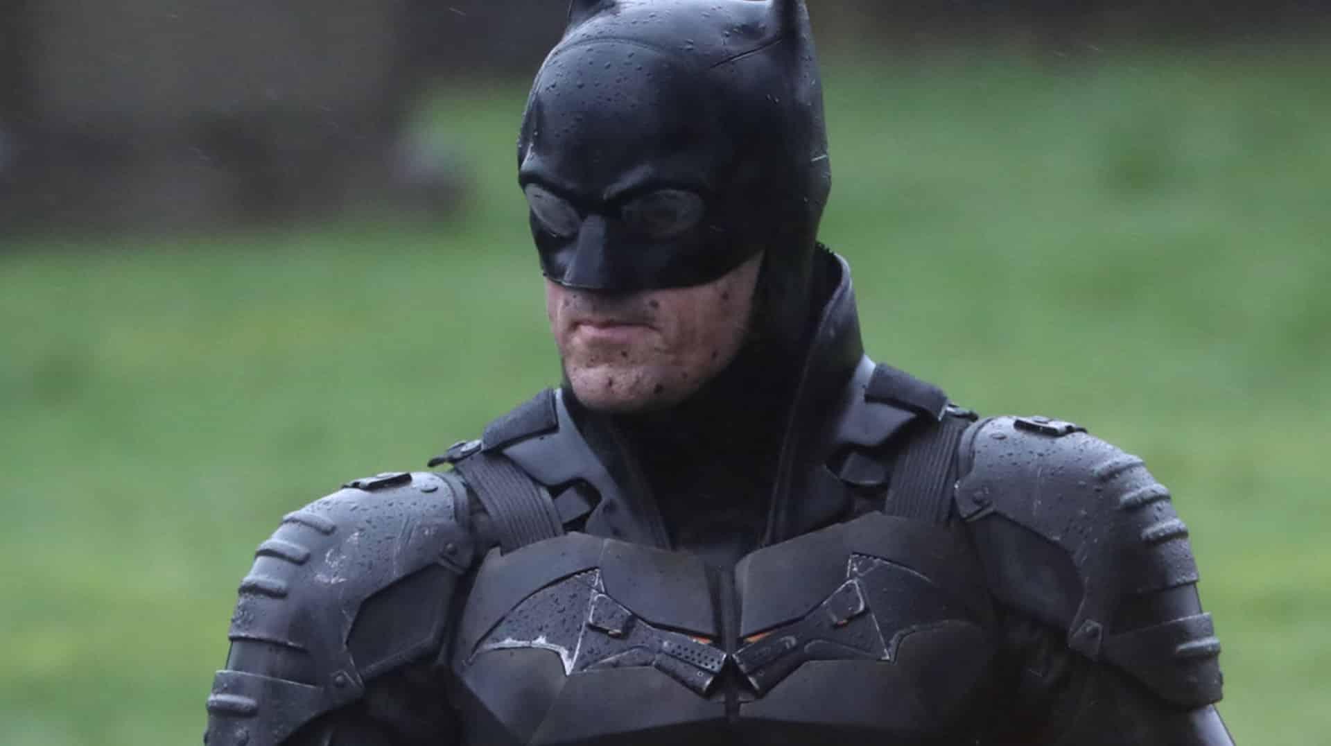The Batman, Robert Pattinson, Batsuit, Batcycle