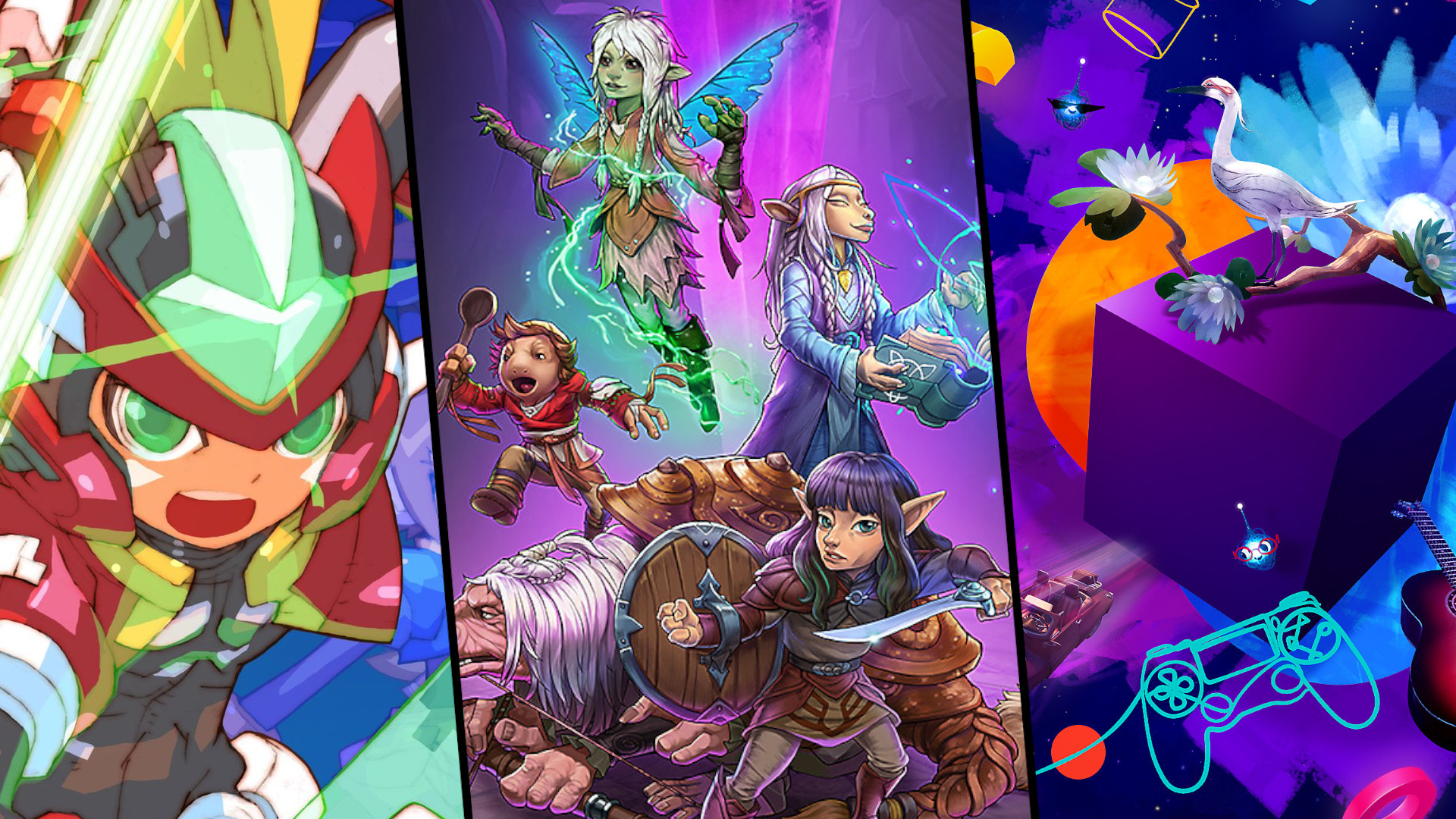 3 Single Player Games February 2020, Dreams, The Dark Crystal: Age of Resistance Tactics, Mega Man Zero/ZX Legacy Collection
