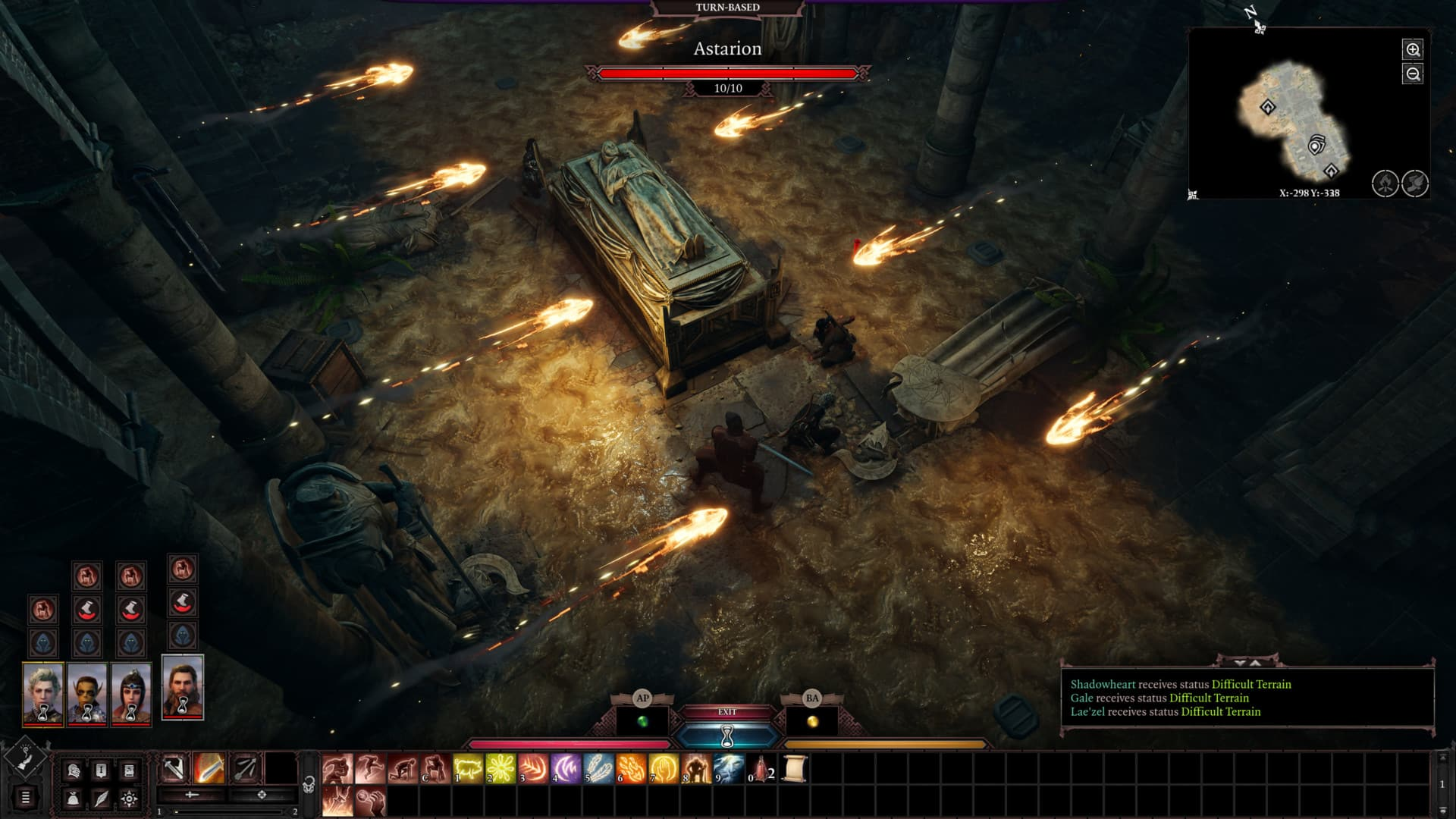 turn-based combat is better than real-time combat with pause for Larian Studios Baldur's Gate 3