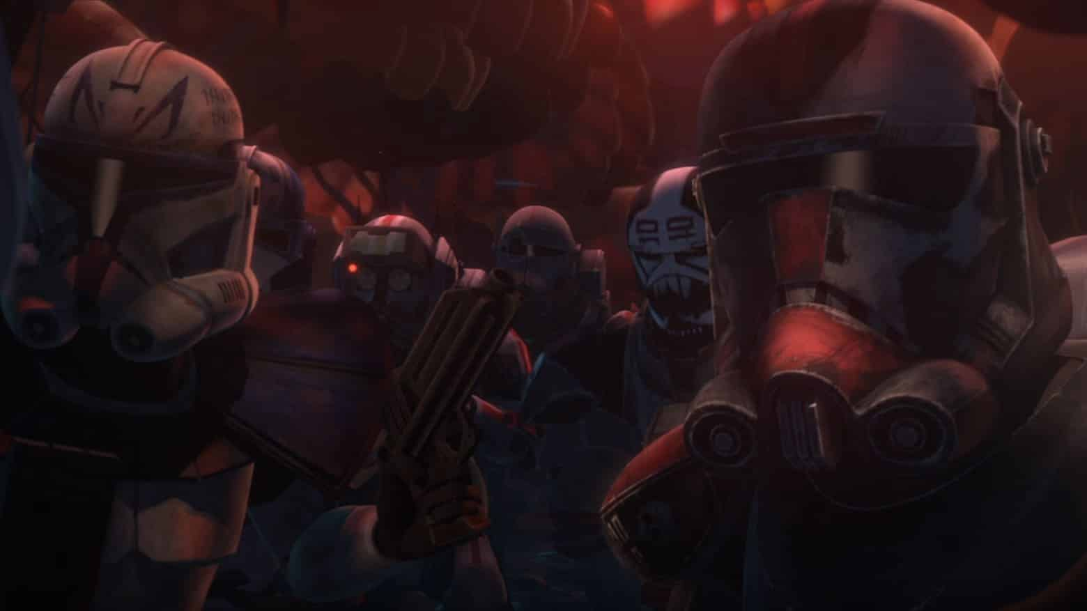 Star Wars: The Clone Wars The Final Season 7 episode 1 review The Bad Batch