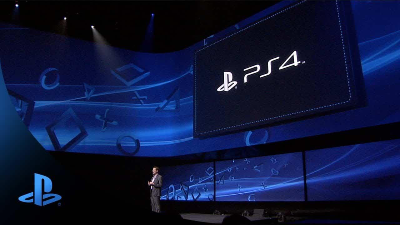 Sony PlayStation 4 reveal event illuminates PlayStation 5 reveal event PS4 PS5 launch