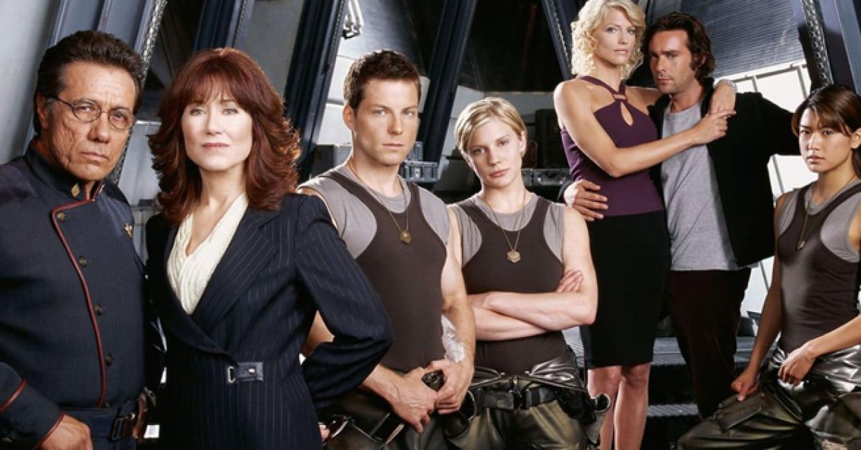 battlestar galactica not reboot ronald d. moore sam esmail